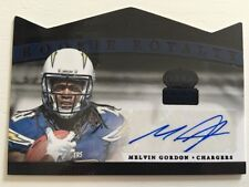 Melvin Gordon AUTO Autograph #1/1 TRUE One of One 2015 Crown Royale Rookie RC