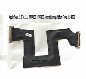 """Apple iMac 21.5"""" A1311 2009 LCD LVDS LED Screen Display Ribbon Cable 593-1006"""