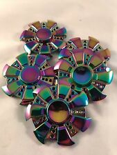 5 Special Gear Rainbow Fidget EDC Hand Spinner Torqbar ADHD Autism Finger Toy T6