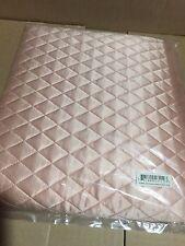 $350! NWT Ann Gish Fancy Pants Rosebud Pink 100% SILK Quilted KING Pillow Sham!