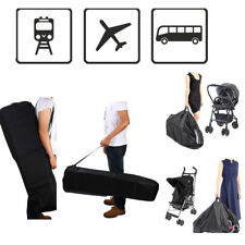 Easy Use Pram Gate Check Travel Bag Umbrella Stroller Pushchair Buggy Cover BBT