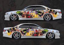 Car Side Full Color Graphics Vinyl Sticker Custom Body Decal Deadpool Ajax