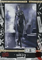 Catwoman Batman Returns Sexy Michelle Pfeiffer Dark City Var. Comic Print Gotham