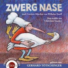 Zwerg Nase und 3 weitere Märchen von Wilhem Hauff, 2 Audio-CDs von Wilhelm...