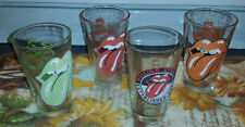 Rolling Stones 2008 & 2010 Musidor BV Glass by ICUP, 4 Piece Lot