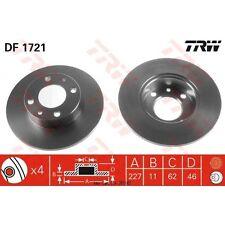Bremsscheibe, 1 Stück TRW DF1721