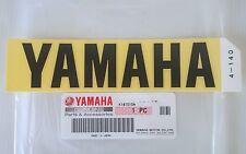 100% Genuine Yamaha 140mm X 33mm Negro Grande logotipo e insignia calcomanía emblema pegatina