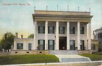 Cherokee Club Macon GA Georgia Old South Unused Divided Back Vintage Postcard