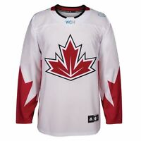 Men's Canada World Cup of Hockey Premier Jersey Adidas NHL White - NEW CLEARANCE