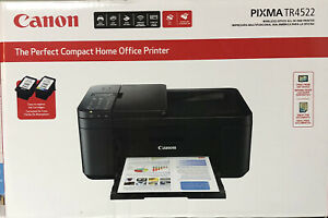 BRAND NEW Canon PIXMA TR4522 Compact Wireless All-in-One Inkjet Office Printer