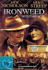 DVD NEU/OVP - Ironweed - Wolfsmilch - Jack Nicholson & Meryl Streep