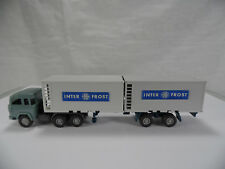 sw1471, Wiking Magirus 235 D Kühlcontainer-Sattelzug  1:87 Spur H0 522-1a
