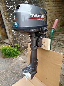 TOHATSU 4HP 4STROKE OUTBOARD ENGINE,SHORT SHAFT
