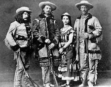 """Buffalo Bill Cody & Pony Express Riders Western Photo B&W 8 X 10"""""""