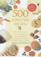 500 Low-carb Recipes,Dana Carpender