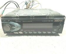 Alpine Cdm-7861 Car Audio Cd/Am/Fm In-Dash Single Din Receiver