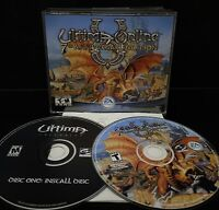 Ultima Online 7th Anniversary Edition PC w/ Keys & Guide TESTED Near Mint Discs