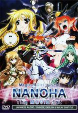 Magical Girl Lyrical Nanoha The MOVIE 1st DVD - US Seller Ship Fast