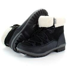 MERRELL Emery lacets cuir noir à cheville chaude femmes bottes hiver taille 4.5