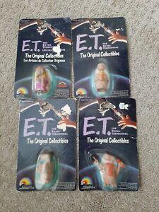 *NEW*  ET Extra Terrestrial Figures LJN Toys 1982 4 Piece Lot