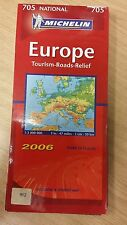 705: Europe: Tourism, Roads, Relief: 2006: Michelin Map (M17)