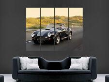 AC COBRA CLASSIC CAR  WALL POSTER ART PICTURE PRINT LARGE HUGE