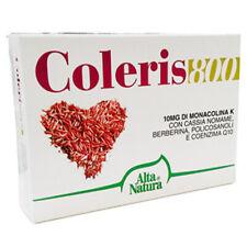 Alta Natura Coleris 800 30 cpr da 800 mg Controllo triglicerdidi e colesterolo