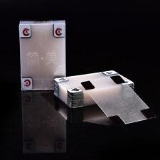 Cartes à jouer imperméables transparentes de PVC de poker en plastique imperméab