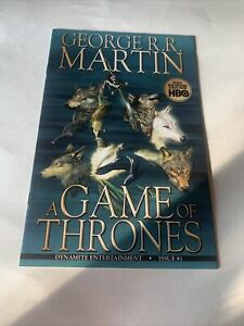Game Of Thrones 1 And 2 Comic Books