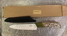 Stone River Gear LTD 2018 White Ceramic Santoku Knife With Ceramic Handle NEW