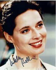 Isabella Rossellini Hand Signed Photograph 10 x 8  + C.O.A