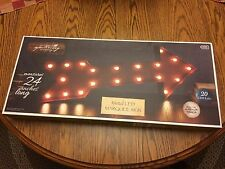 """Apothecary & Company 24"""" Metal LED Marquee Arrow Sign"""