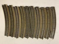 Märklin, M-Gleis, 5200, 10 x gebogenes Gleisstück, ansehen, Schnäppchen !!!