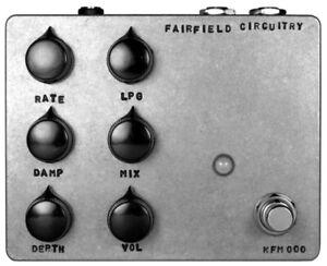 Fairfield Circuitry Shallow water K-Field Modulator effects pedal, Brand New