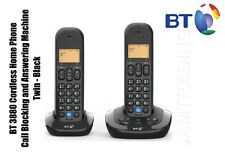 BT 3880 Cordless Phone with Nuisance Call Blocking and Answering Machine Twin