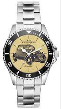 Geschenk für Fiat 500 Topolino Oldtimer Fahrer Fans Kiesenberg Uhr 6458