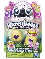 Hatchimals Colleggtibles Rhythm Rainbow Surprise Eggs 2Pack + NEST Season3 TWINS