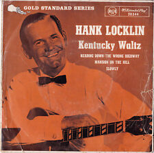 HANK LOCKLIN Kentucky Waltz EP