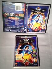 BLU-RAY Snow White (DISNEY 3 DISC DIAMOND EDITION w/DVD/slipcover) MINT
