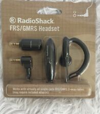 RadioShack FRS/GMRS Headset.Works with virtually all single-jack FRS/GMRS radios