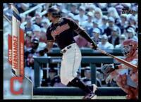 2020 Update Base Rainbow Foil #U-99 Cesar Hernandez - Cleveland Indians