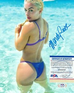 MANDY ROSE Autographed Signed 8x10 Photo - PSA/DNA ITP COA - WWE NXT SEXY