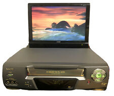 Sanyo Vwm-680 4-Head Hi-Fi Vhs Video Cassette Player-Recorder - No Remote
