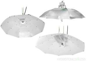 Parabolic Hydroponics Reflector Light Tent Shade HPS MH 80cm 100cm