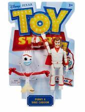 New Mattel Disney Pixar Toy Story 4 Forky & Duke Caboom Action Figure Set