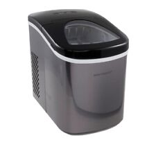 New listing Improvements Compact Portable Stainless Steel Ice Maker Black New Nib Best Top
