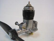 Vintage OK .074 Model Airplane Engine w/ Prop