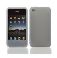 HOUSSE ETUI COQUE SILICONE GEL ★★ IPHONE 4 4S ★★ BLANCHE ★★