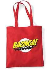 Bazinga Big Bang Theory Sheldon Cooper Geek Tote Bag