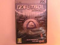 Fussball Saison 2013/14 Fx Set PC DVD Neu Versiegelt Neu Verschlossen Am